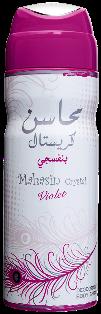 MAHASIN CRYSTEL VIOLET Body Spray