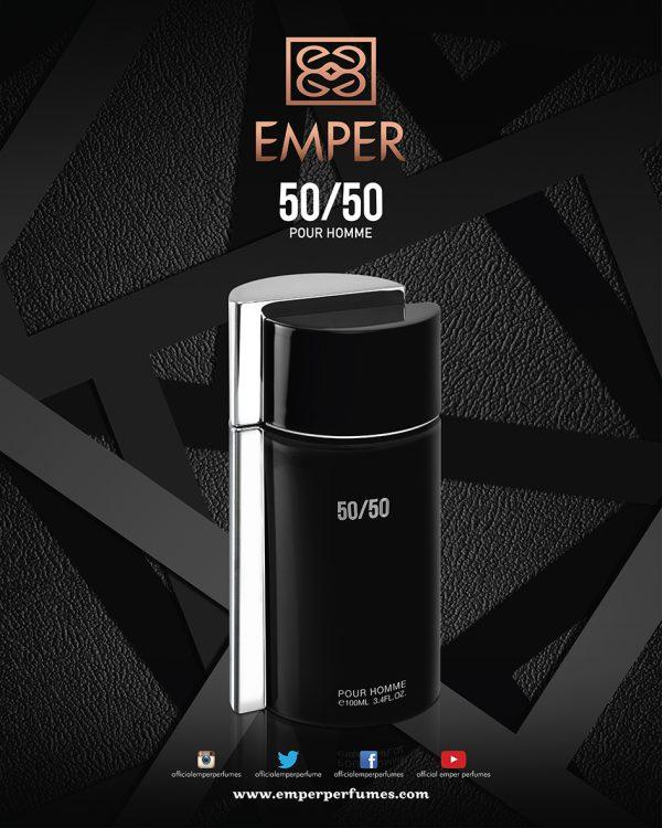 50 50 Poster Perfume